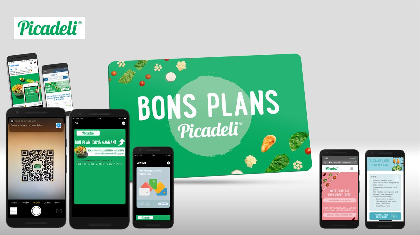 Carte digitale de Bons Plans